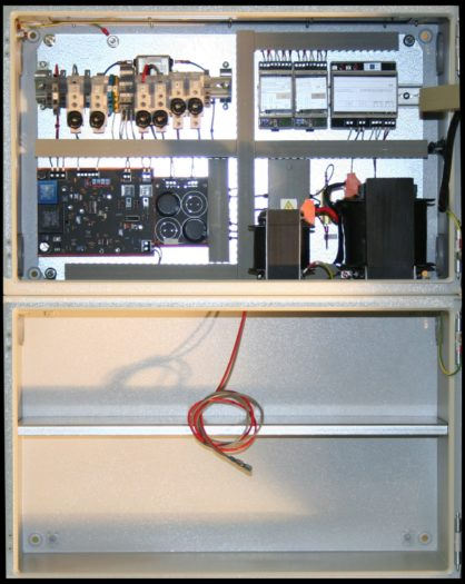 E230 G110/10 BWr- Wandschrank mit geschottetem Akkuabteil